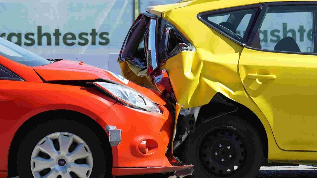 Verkehrsunfall mit HWS Distorsion