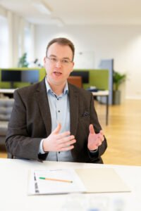 Tim Platner, CEO von VINQO