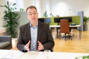 Tim Platner, Geschäftsführer VINQO