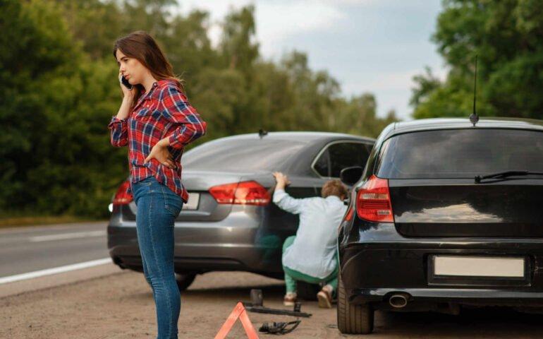 Verkehrsunfall Schuldfrage
