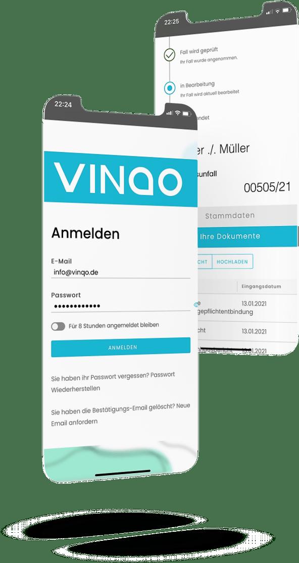 VINQO Onlineakte