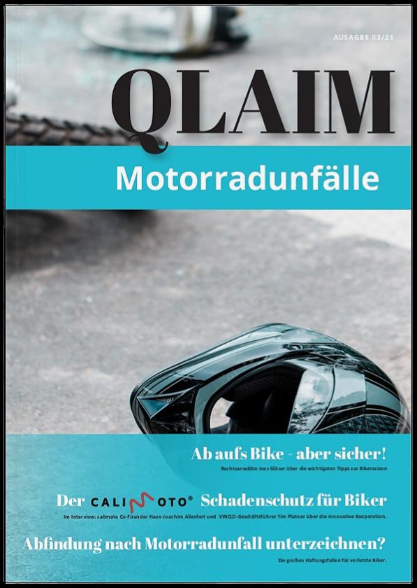 Motorradunfall QLAIM