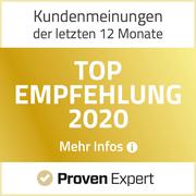 Top Empfehlung VINQO ProvenExpert